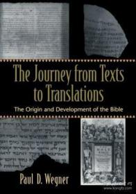 Journey From Texts To Translations, The