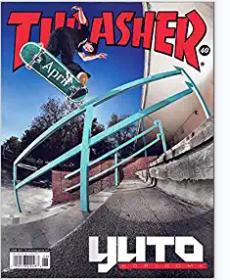 Thrasher Magazine June 2021 YUTO Horigome Issue