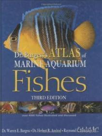 Dr. Burgess's Atlas Of Marine Aquarium Fishes <3rd Edition> (2000)