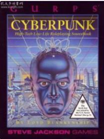 GURPS Cyberpunk: High-Tech Low-Life sourcebook (Steve Jackson Games paperback)