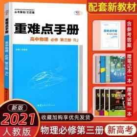 重难点手册 高中物理 必修 第三册 RJ 人教版