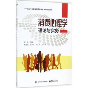 【正版】消费心理学理论与实务高  787121320156