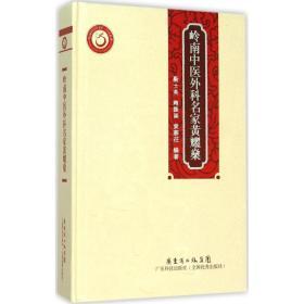 正版书籍 岭南中医外科名家黄耀燊靳士英广东科技出版社 全新书籍