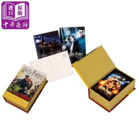Harry Potter: The Postcard Collection 英文原版 哈利波特周边:100张经典明信片【原版】