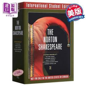 预售 The Norton Shakespeare (Revised) (3RD ed.) 英文原版 诺顿莎士比亚全集(第3版)(国际学生版)经典文学名著【原版】
