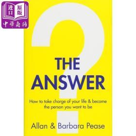 The Answer 英文原版 答案之书:如何掌控自己的生活和成为你想成为的人 Barbara Pease 自我提升【原版】