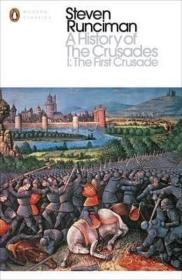 【原版】十字军东征的历史 英文原版 英文版 欧洲史 A History of the Crusades