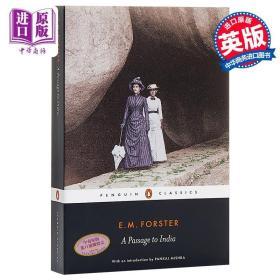 【原版】印度之行 英文原版 英文文学 A Passage to India E.M. Forster Penguin Classics