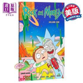 【原版】瑞克与莫蒂漫画1 英文原版 Rick and Morty: V.1 美国科幻情景喜剧 卡通漫画 高分神作 脑洞大开 科幻动画