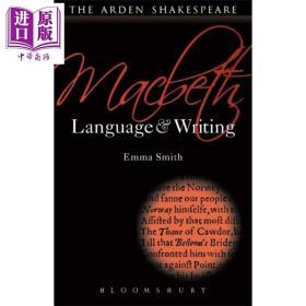 正版全新Macbeth Language and Writing Arden 英文原版 阿登版语言与写作 麦克白 学生版 Emma Smith【原版】