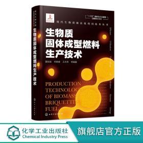 正版全新现代生物质能高效利用技术丛书 生物质固体成型燃料生产技术 生物质干燥粉碎成型等关键环节的基本原理 对关键技术和设备设计书籍