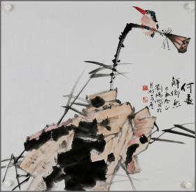 刘鸿洲,花鸟画