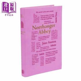 正版全新简奥斯汀 诺桑觉寺 Word Cloud Classics Northanger Abbey 英文原版 Jane Austen