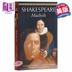正版全新Macbeth麦克白英文原版小说 莎士比亚悲剧喜剧戏剧 William Shakespear 四大悲剧之一