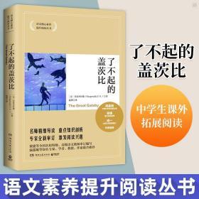 正版全新2020版了不起的盖茨比 语文核心素养提升阅读丛书中学生课外拓展文学读物小说学校书籍名著书目世界文学名著外国文学读物