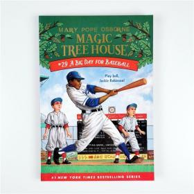 J17 Magic Tree House系列 A Big Day for Baseball #29.