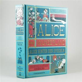 L28 德语原版 Alice's Adventures in Wonderland无互动配件 精装.