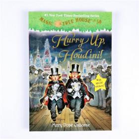 J17 Magic Tree House系列 Hurry Up  Houdini! #50.
