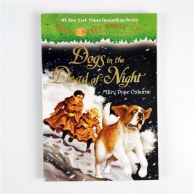 J17 Magic Tree House系列 Dogs in the Dead of Night #46.
