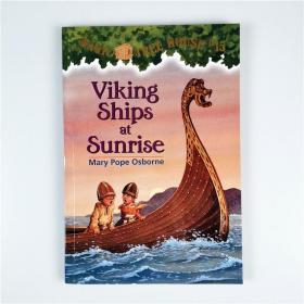 J17 Magic Tree House系列 Viking Ships At Sunrise #15.