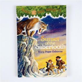 J17 Magic Tree House系列 Sunset of the Sabertooth #7.