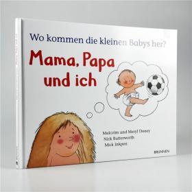 I20 德语原版 生物启蒙 Wo kommen die kleinen Babys her? 精装.