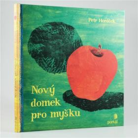 I20 捷克语原版 洞洞趣味故事绘本 Nov?? domek pro my??ku 精装.