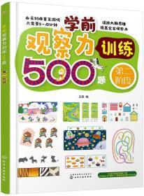 正版学前观察力训练500题.第二阶段
