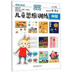 正版儿童思维训练:中阶逻辑与应用(建议年龄4-5岁)