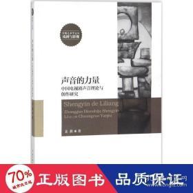 正版声音的力量:中国电视剧声音力量与创作研究