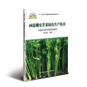正版画说棚室芹菜绿色生产技术