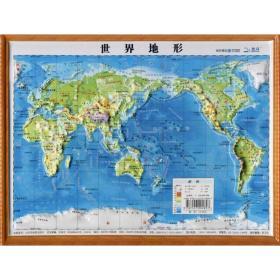 正版世界地形