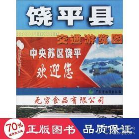 正版饶平下县交通游览图