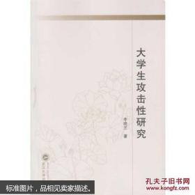大学生攻击性研究 李艳兰 武汉大学出版社
