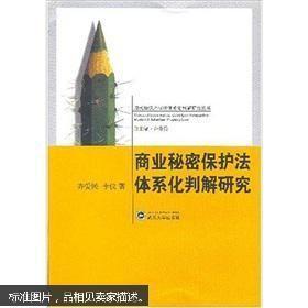 商业秘密保护法体系化判解研究 齐爱民 李仪 武汉大学出版社