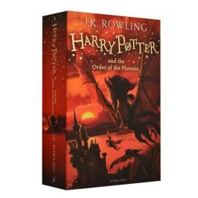 哈利波特与凤凰社 哈利波特5 英文版原版小说 Harry Potter and t