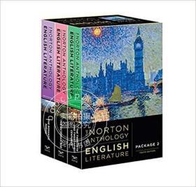 诺顿英国文学套装 新版 第十版 英文原版 The Norton Anthol