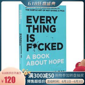 马克曼森 重塑幸福第二部 一本关于希望的书 英文原版 Everything