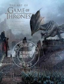 冰与火之歌权力的游戏 影视艺术画册设定集 英文 美版 T