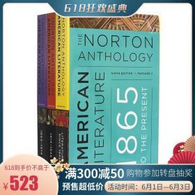 诺顿美国文学选集 第九版 Package 2 英文原版 The Norton Anthol