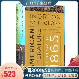诺顿美国文学选集 第九版 Package 1 英文原版 The Norton Anthol