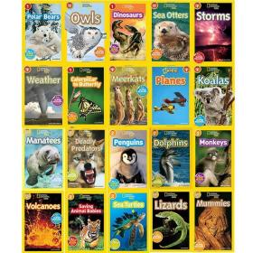 national geographic kids Readers L1 L2美