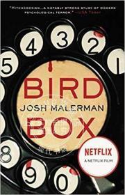 蒙上你的眼 鸟舍 英文原版 Bird Box 原著小说 Netflix热播?