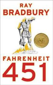 英文原版 Fahrenheit 451 华氏451