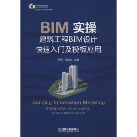 如初见正版图书!BIM实操 建筑工程BIM设计快速入门及模板应用陶海波9787111614630机械工业出版社2018-12-20计算机与互联网书籍