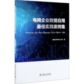 如初见正版图书电网企业数据应用  实践案例集国网天津市电力公司9787519853013中国电力出版社2021-04-01工程技术书籍