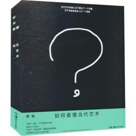 如初见正版图书如何看懂当代艺术苏也9787535693754湖南美术出版社2021-04-01艺术书籍