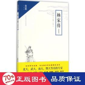 正版崇文馆·小说馆:杨家将(注释本 无障碍阅读版)