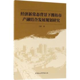 正版经济新常态背景下潍坊市产融结合发展规划研究