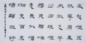 毛国典  书法